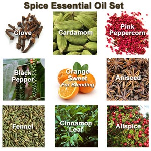 Spice Essential Oil Set, 5 mL
