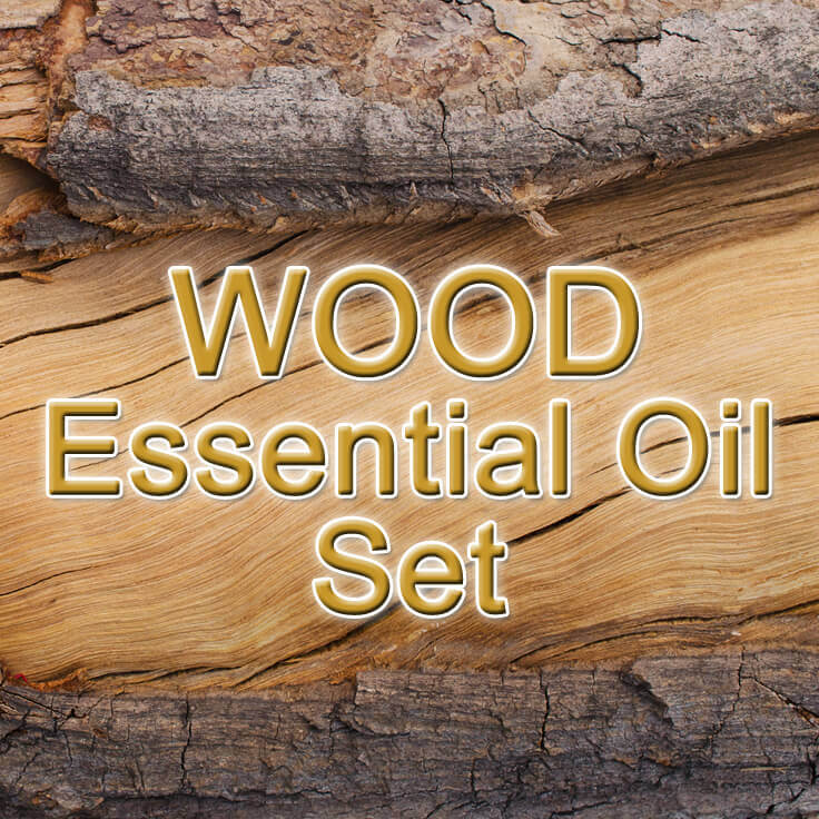 Wood Essential Oil Set, 5mL