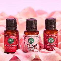 Rose Oil Trio