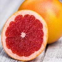 Grapefruit, Ruby Red Organic Essential Oil, 1 mL Sample