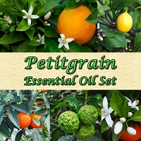 Petitgrain Essential Oil Set, 5mL